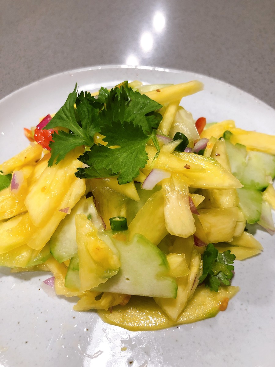 How to Make Malay Vegetable Pickle (Acar)