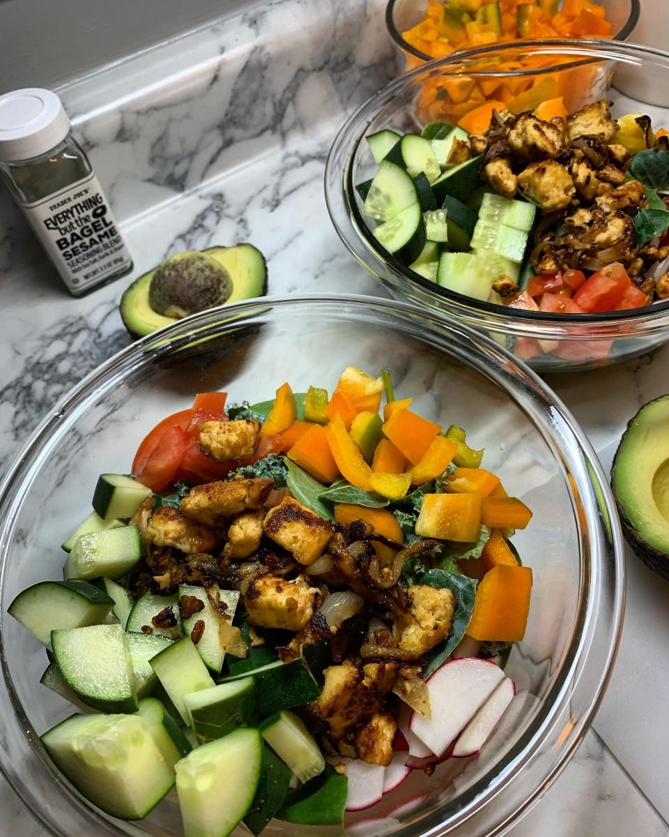 Plant-Based Tofu Bowl