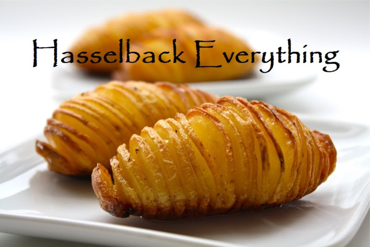 How to Hasselback (Almost) Everything