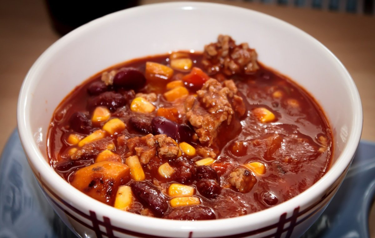 Mom's Incredible Hearty Vegetable Chili