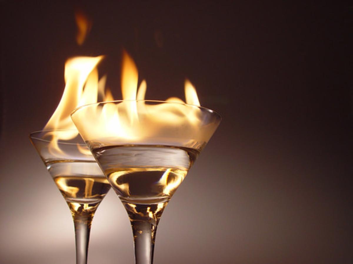 Making liquor can be a hazardous business.