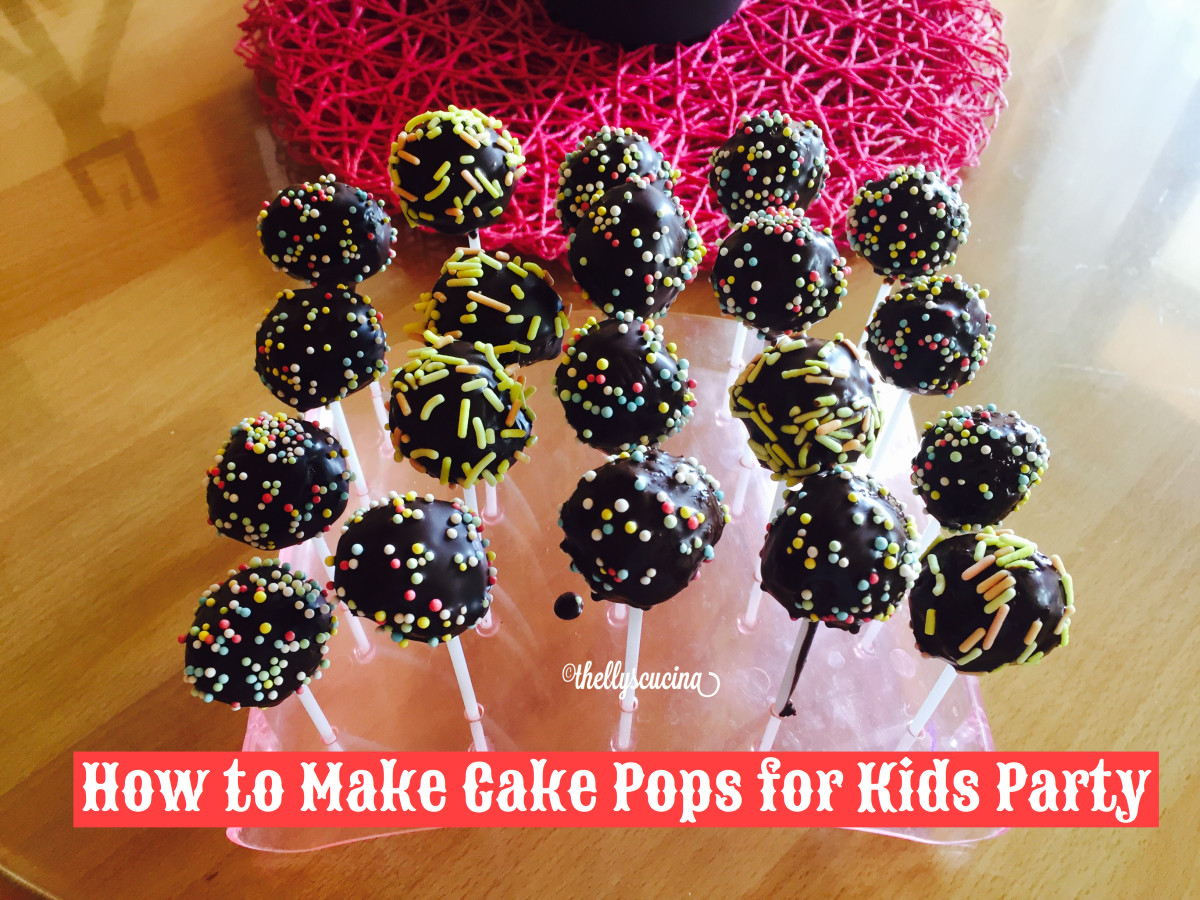 How to Make Cake Pops for Kids' Parties