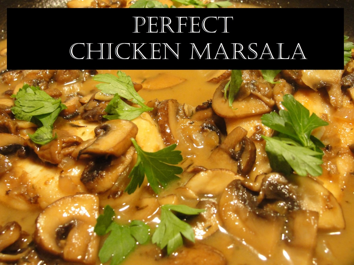 Learn how to make a great chicken marsala