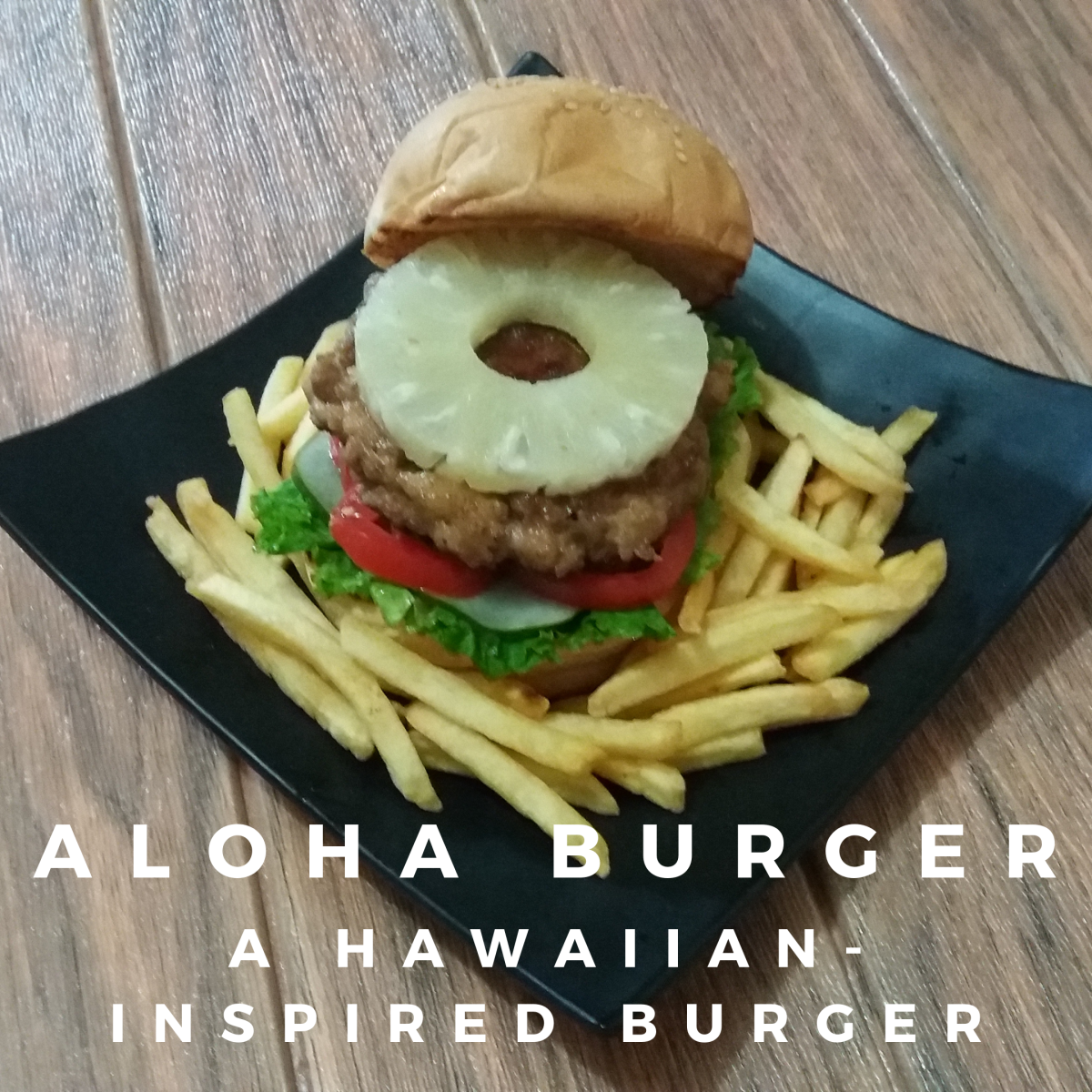 Learn how to prepare a Hawaiian aloha burger.