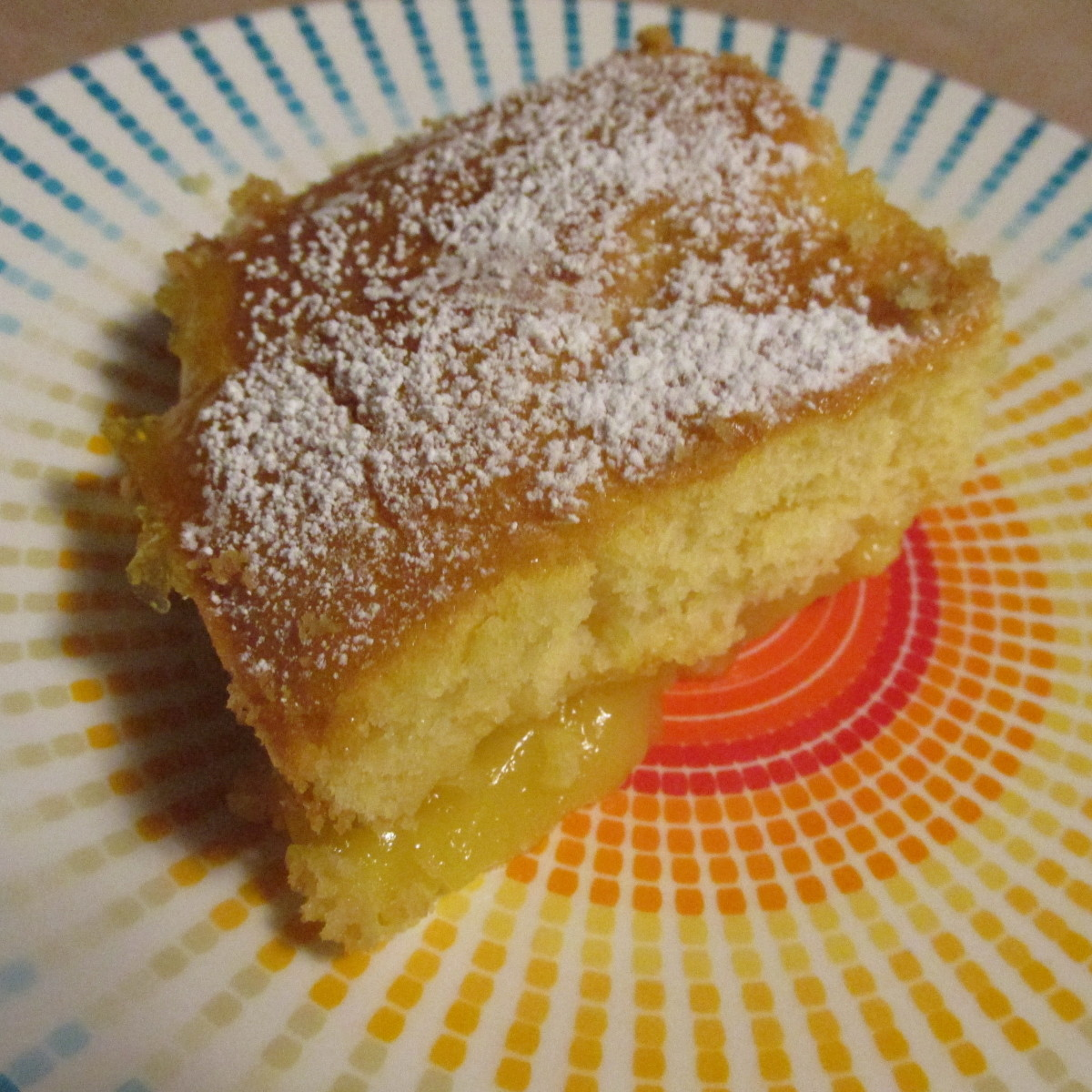 Lemon Cake to Warm You Up on a Winter Night