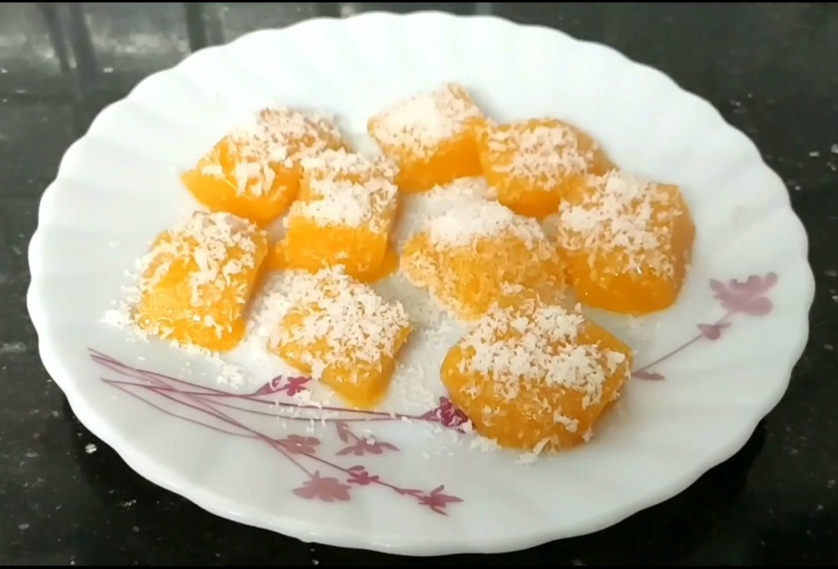 Yummy Mango Jelly Candy With Just 3 Ingredients (Plus Water)