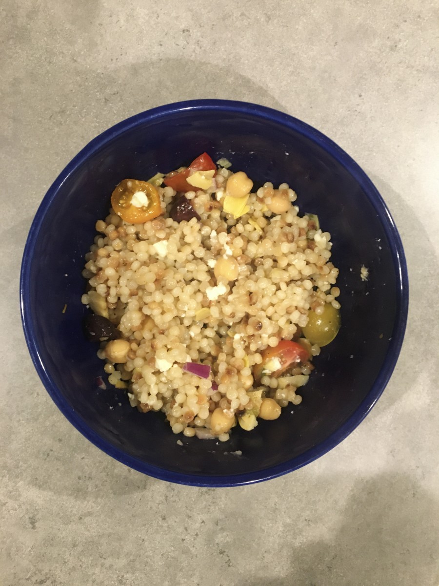 Easy Lunch Recipe: Mediterranean Couscous