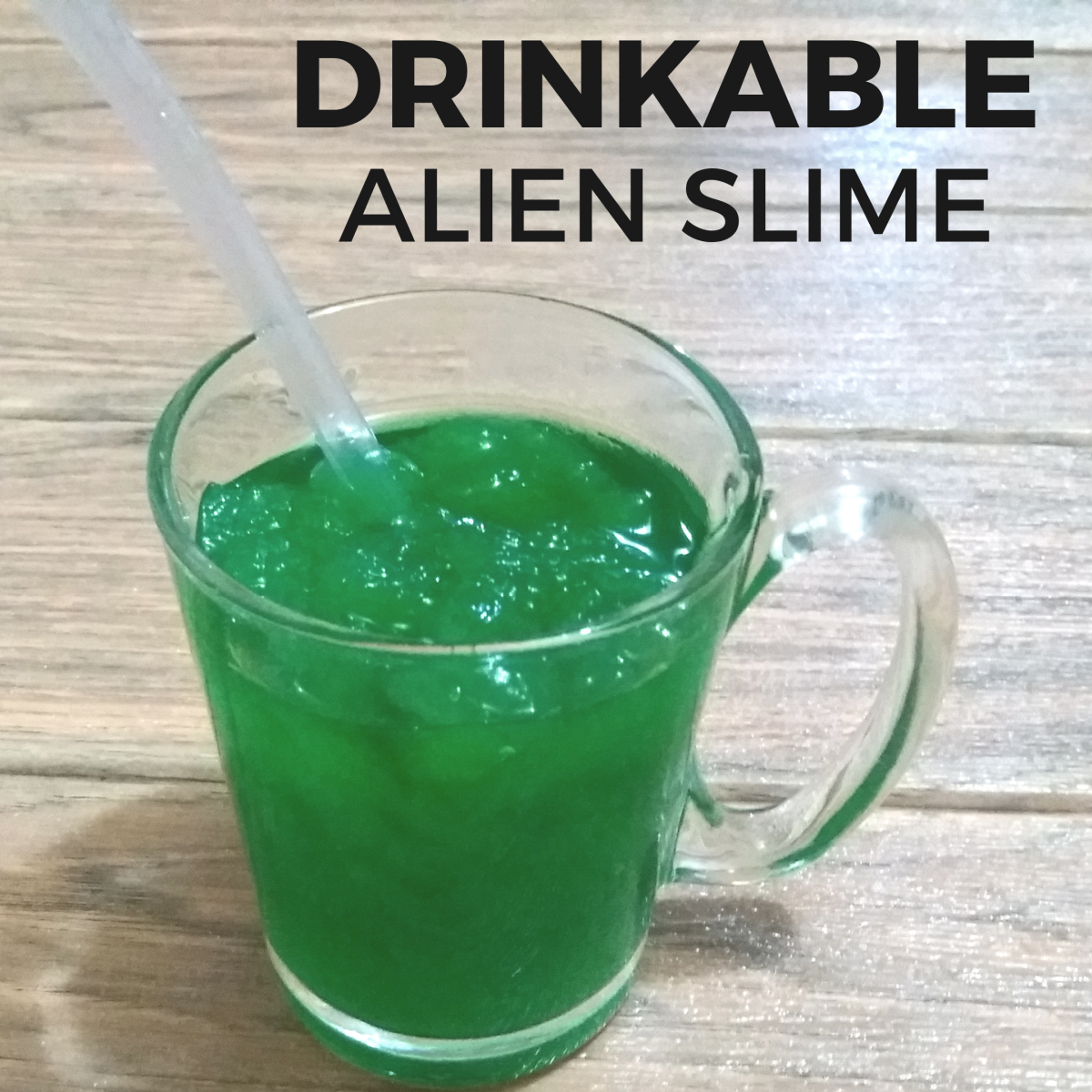 How to Make an Alien Slime Drink (Inspired by