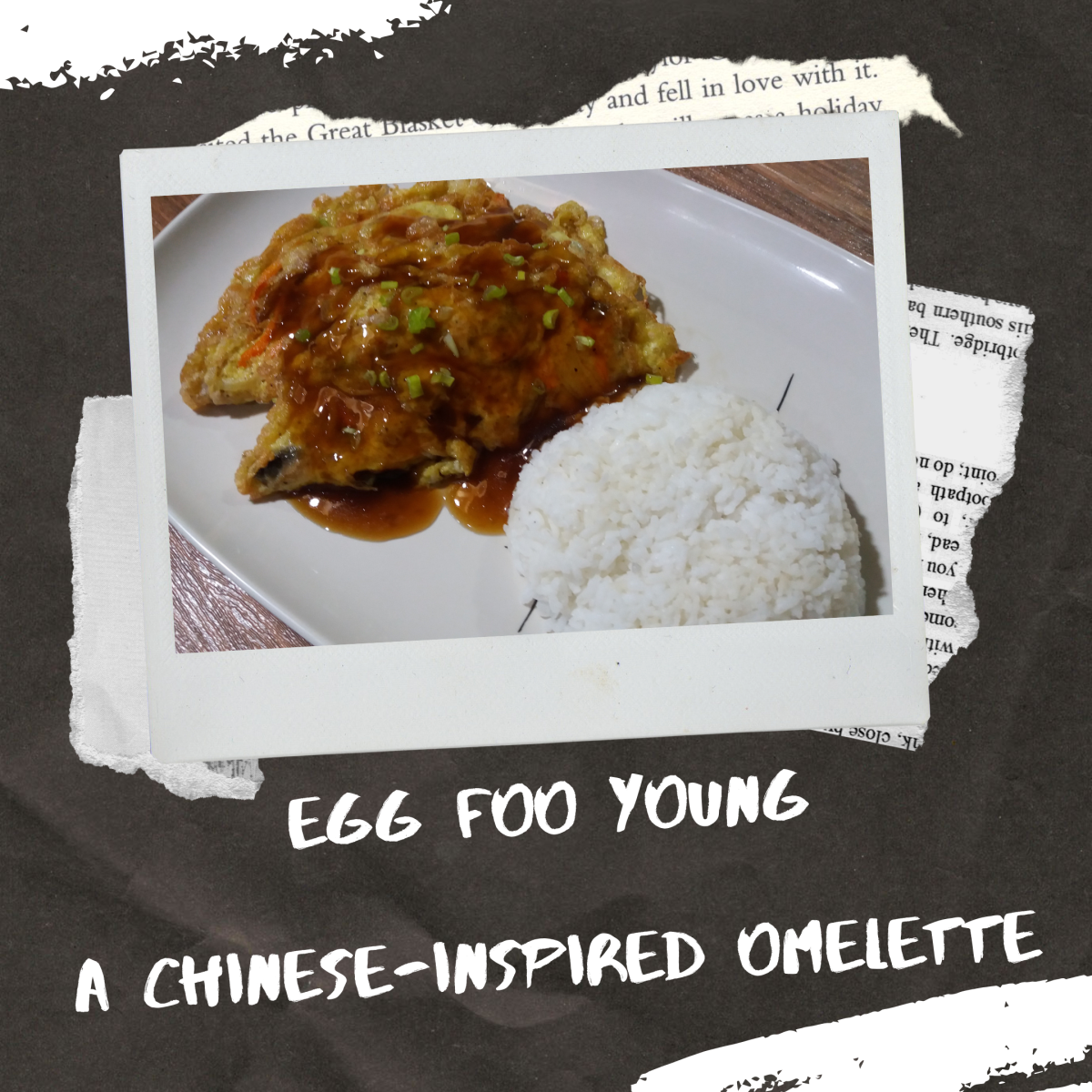 Egg foo young is a Chinese omelette recipe
