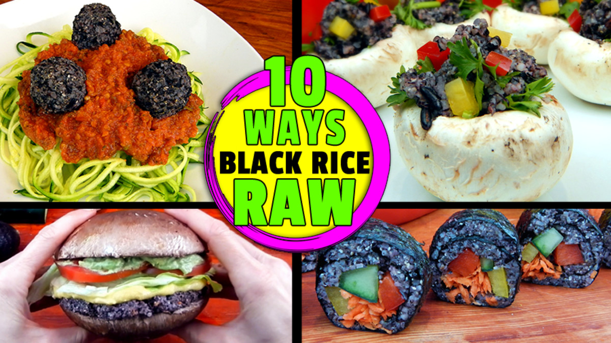 What Is Chinese Forbidden Black Rice? Plus 10 Raw Vegan Meal Ideas