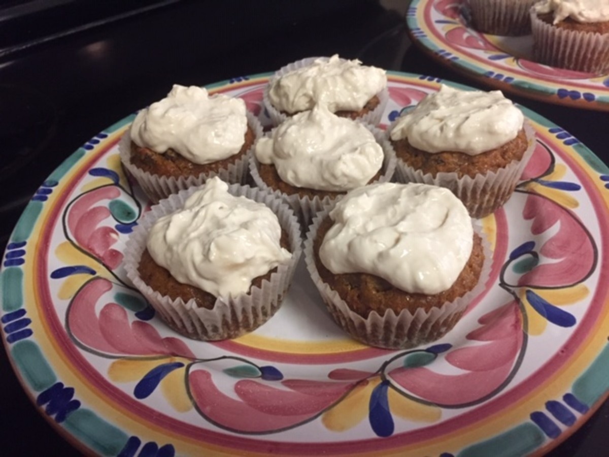 These maple carrot cupcakes are almost healthy!