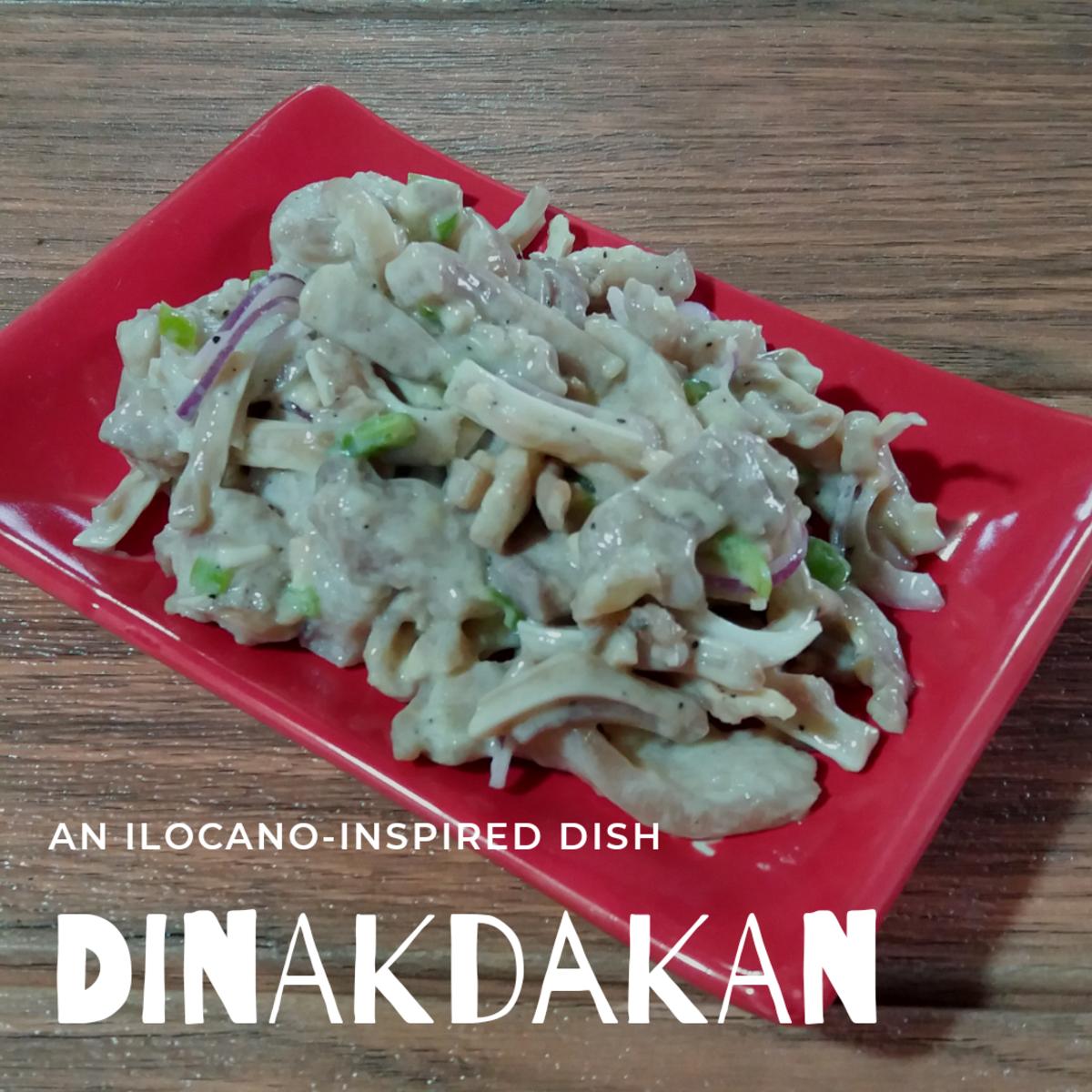 Dinakdakan is an Ilocano delicacy