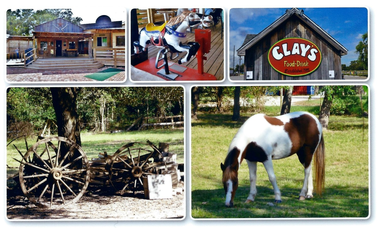 Clay's Restaurant: Family-Friendly Wild West Setting in Houston