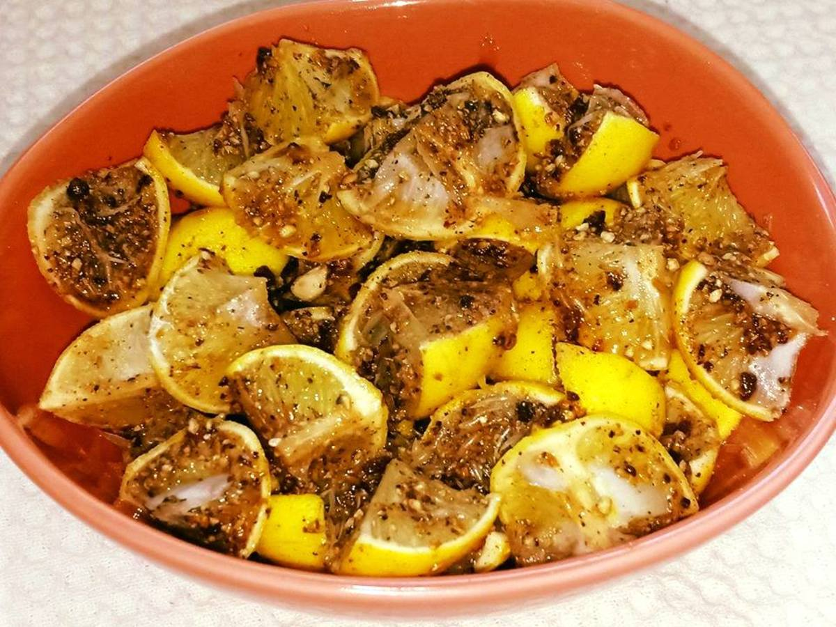 Nimbu Ka Hajma Achar (Digestive Lemon Pickle)