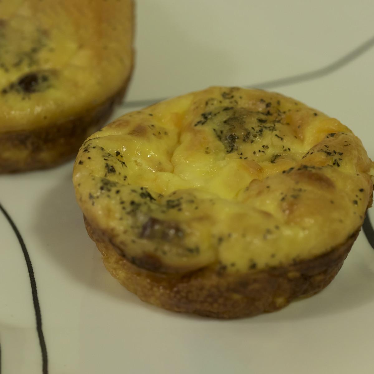 Crustless Mini Quiche