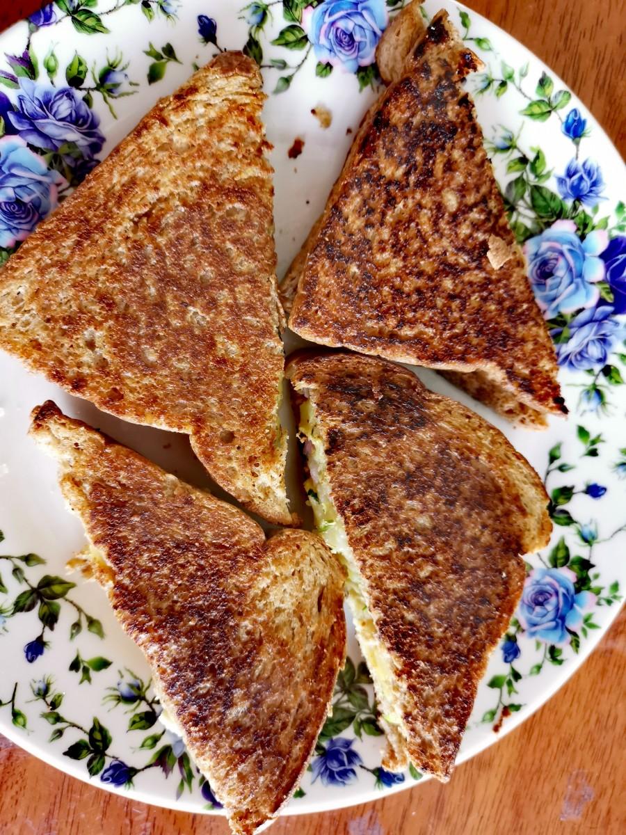Potato Cheese Sandwich
