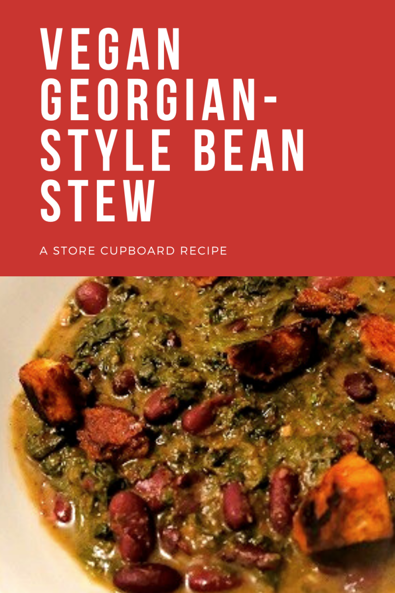 Vegan Georgian-Style Bean Stew: A Store Cupboard Recipe
