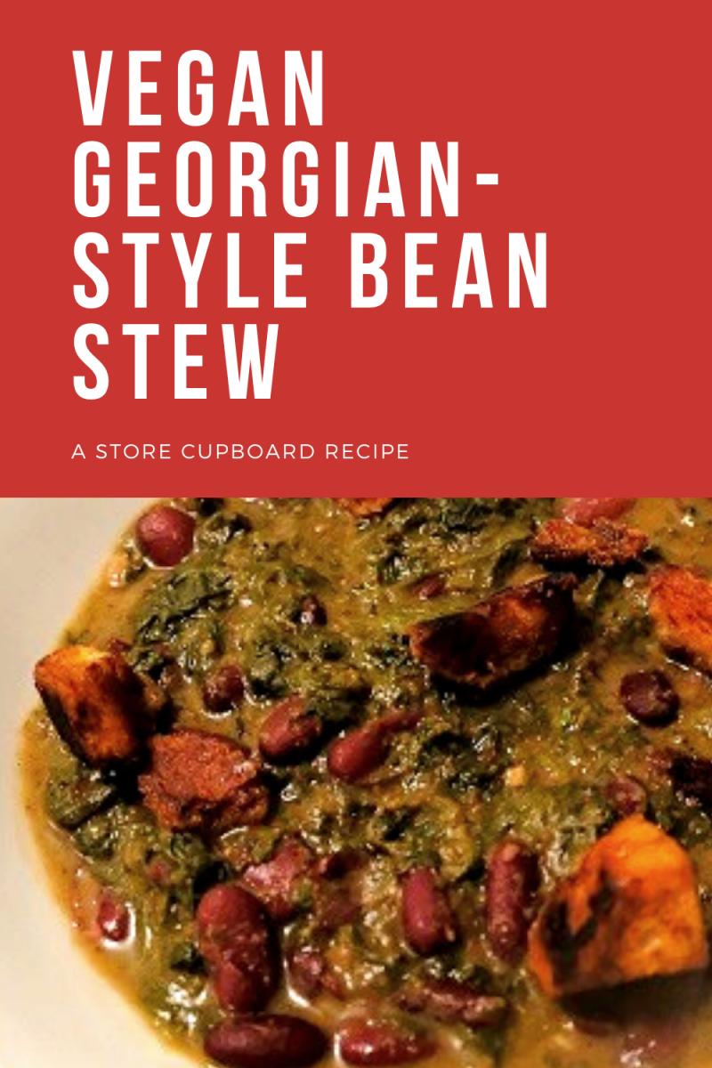 Vegan Georgian-Style Bean Stew: A Store Cupboard Recipe