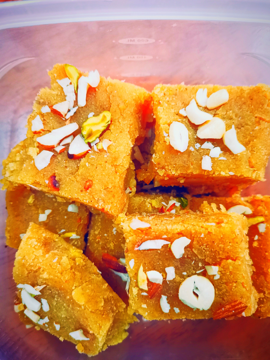 Mohanthal is a classic Indian sweet