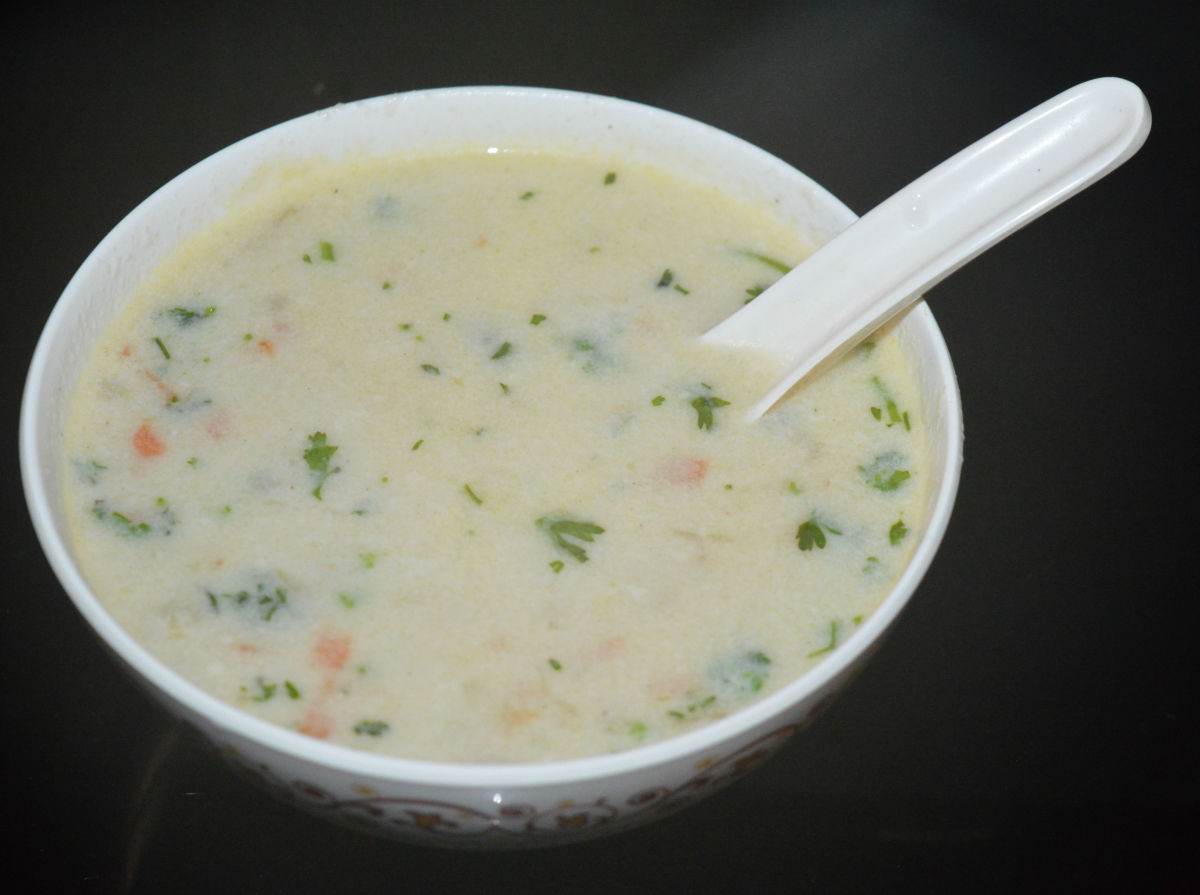 Barley Coconut Soup