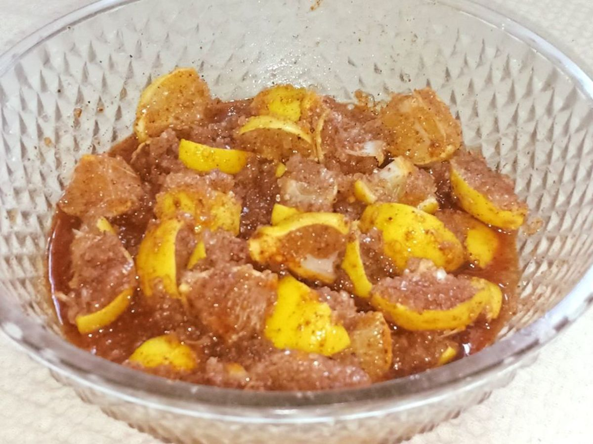 Nimbu Ka Meetha Achar (Sweet Lemon Pickle Recipe)
