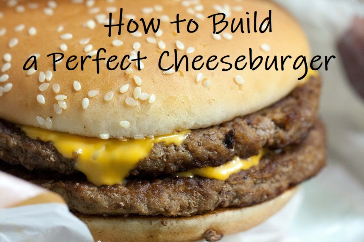 Possibly the most beautiful cheeseburger in the world