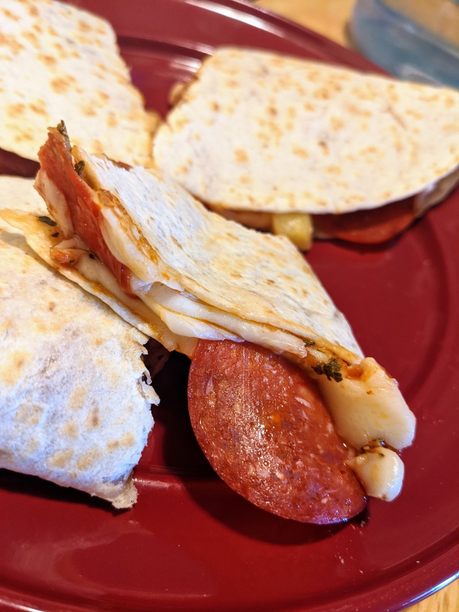 Pizza? Quesadilla? Why Not Both? Introducing the Pizzadilla!