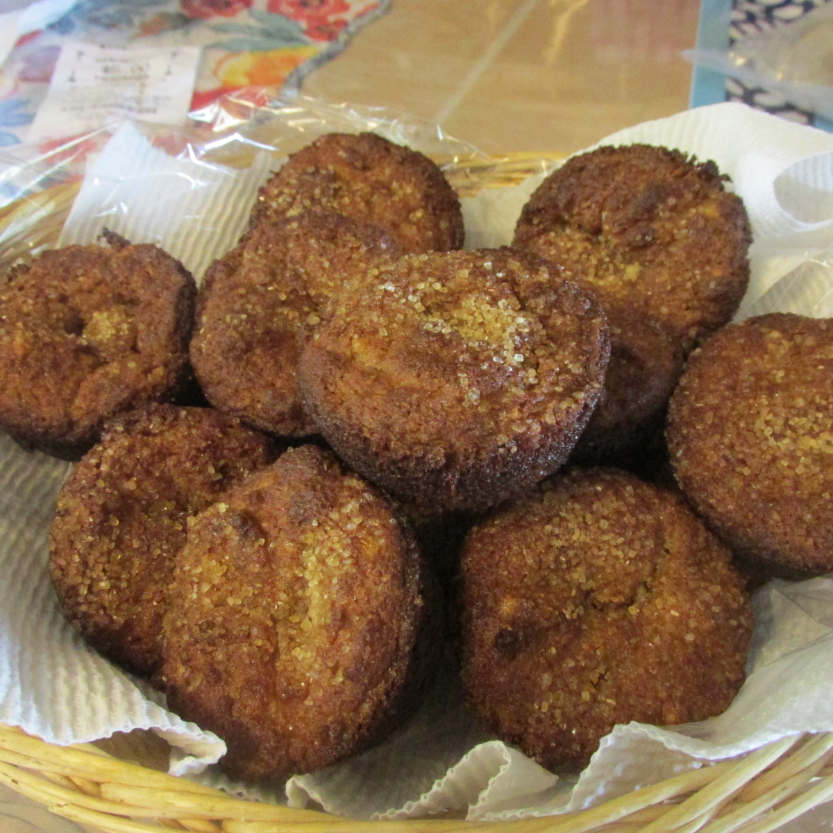 Low-Carb, Gluten-Free Apricot Muffins With Almond Flour