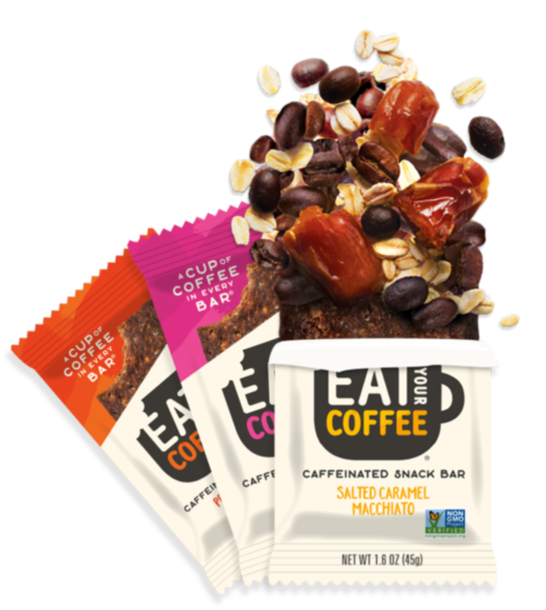 Review of Eat Your Coffee Caffeinated Snack Bars
