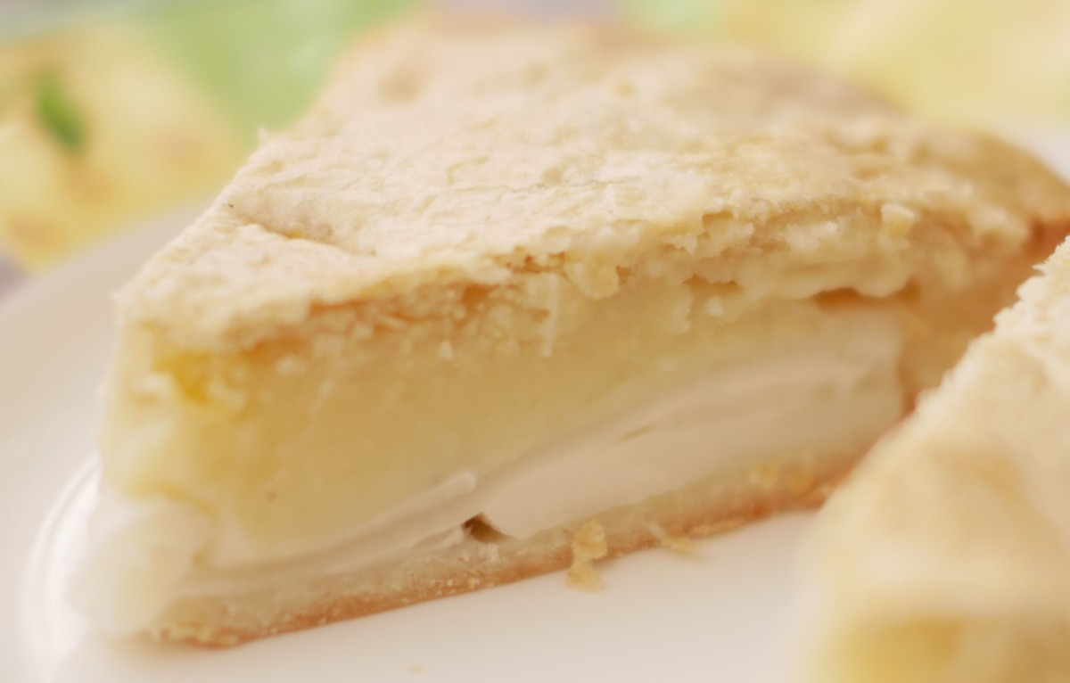 Easy Filipino Coconut Pie Buko Pie Delishably Food And Drink