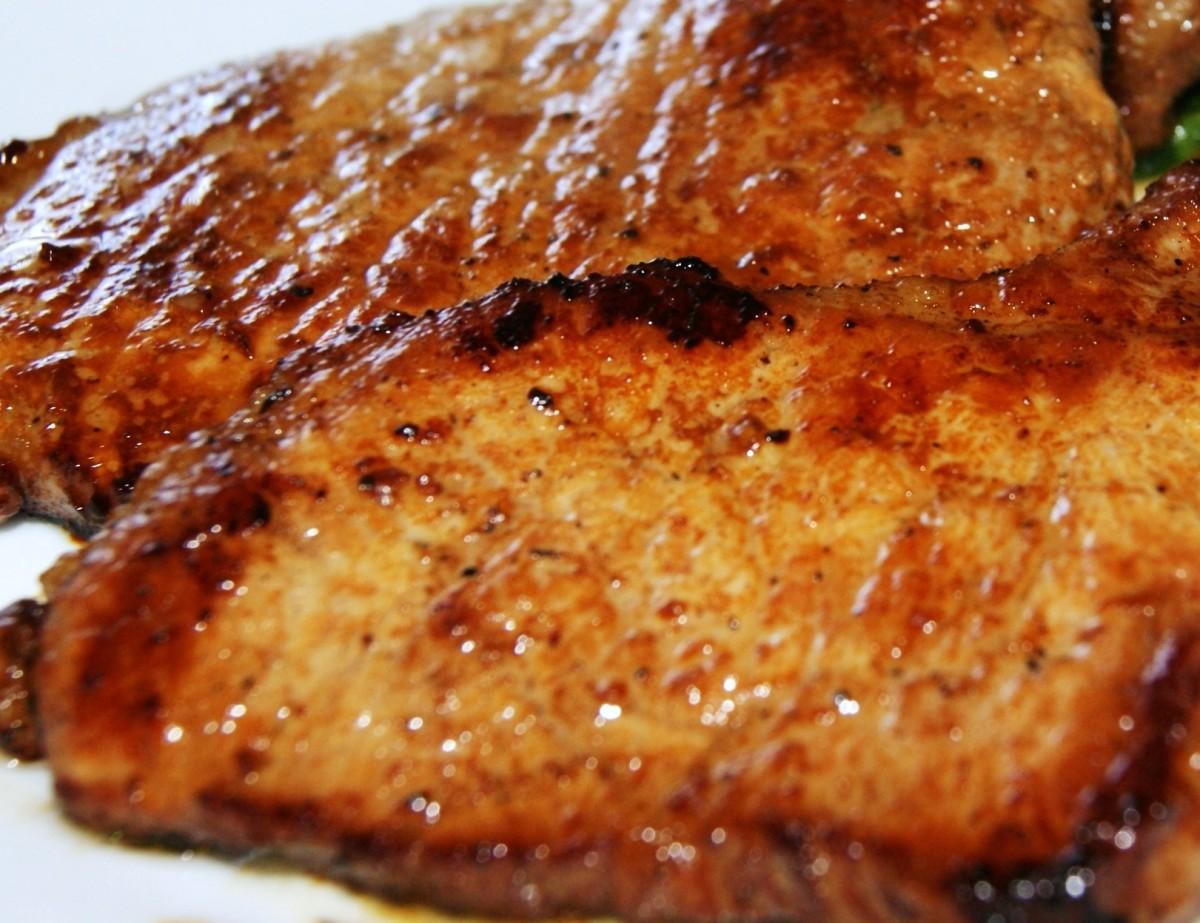 Filipino-style pork chops