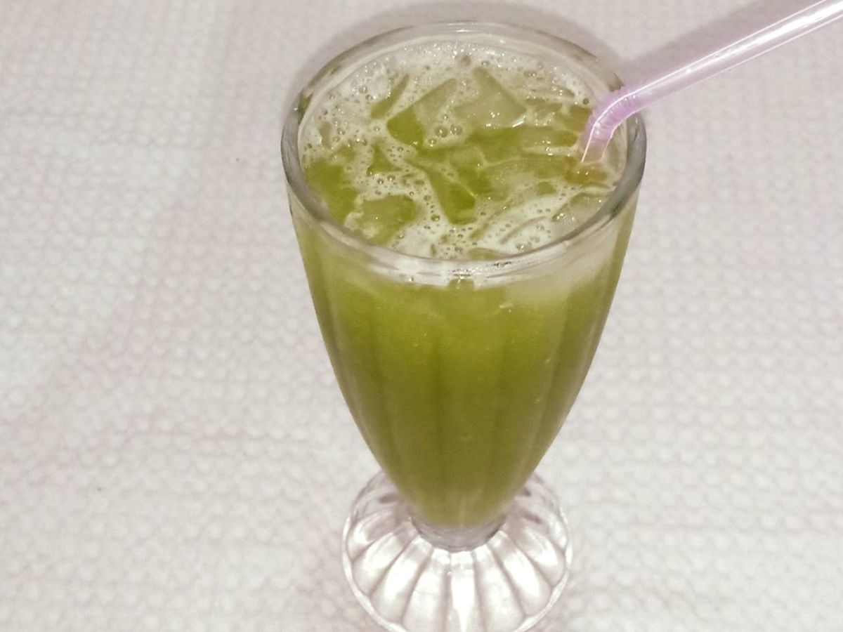 Refreshing Cucumber Cooler Recipe