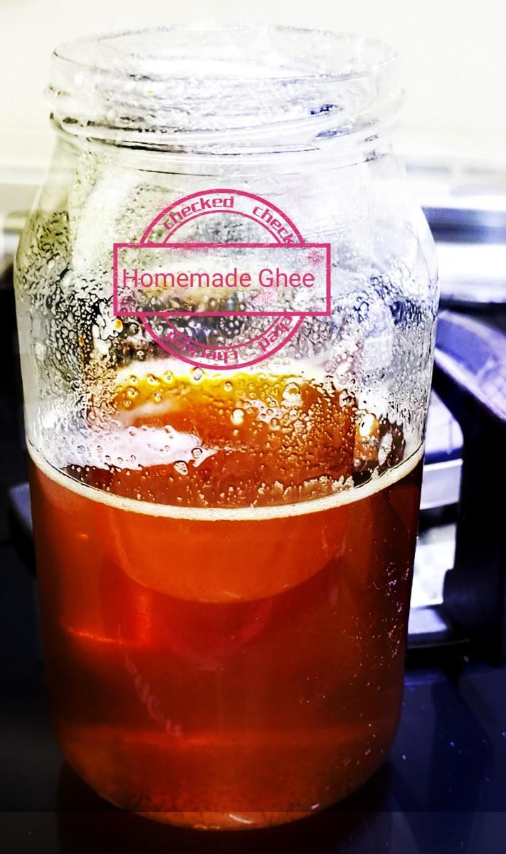 Homemade Ghee (Clarified Butter) Recipe