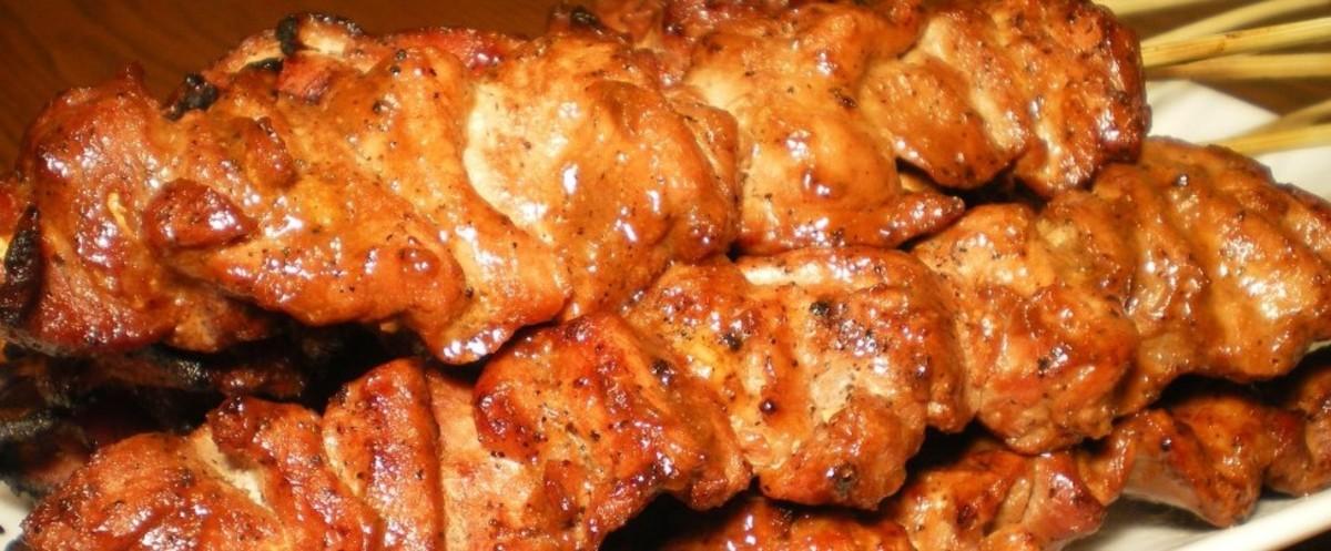 Filipino-style barbecue pork