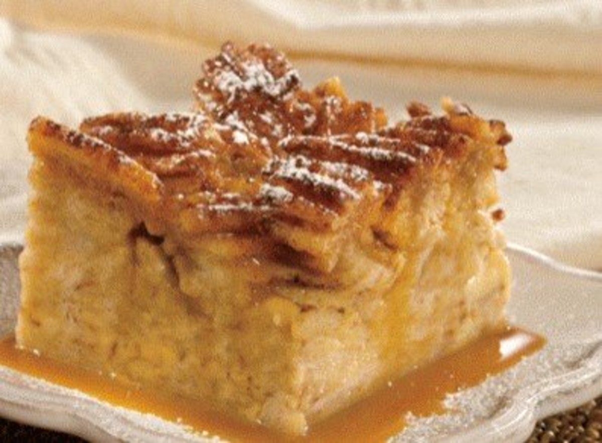 Mom's Bread Pudding Recipe