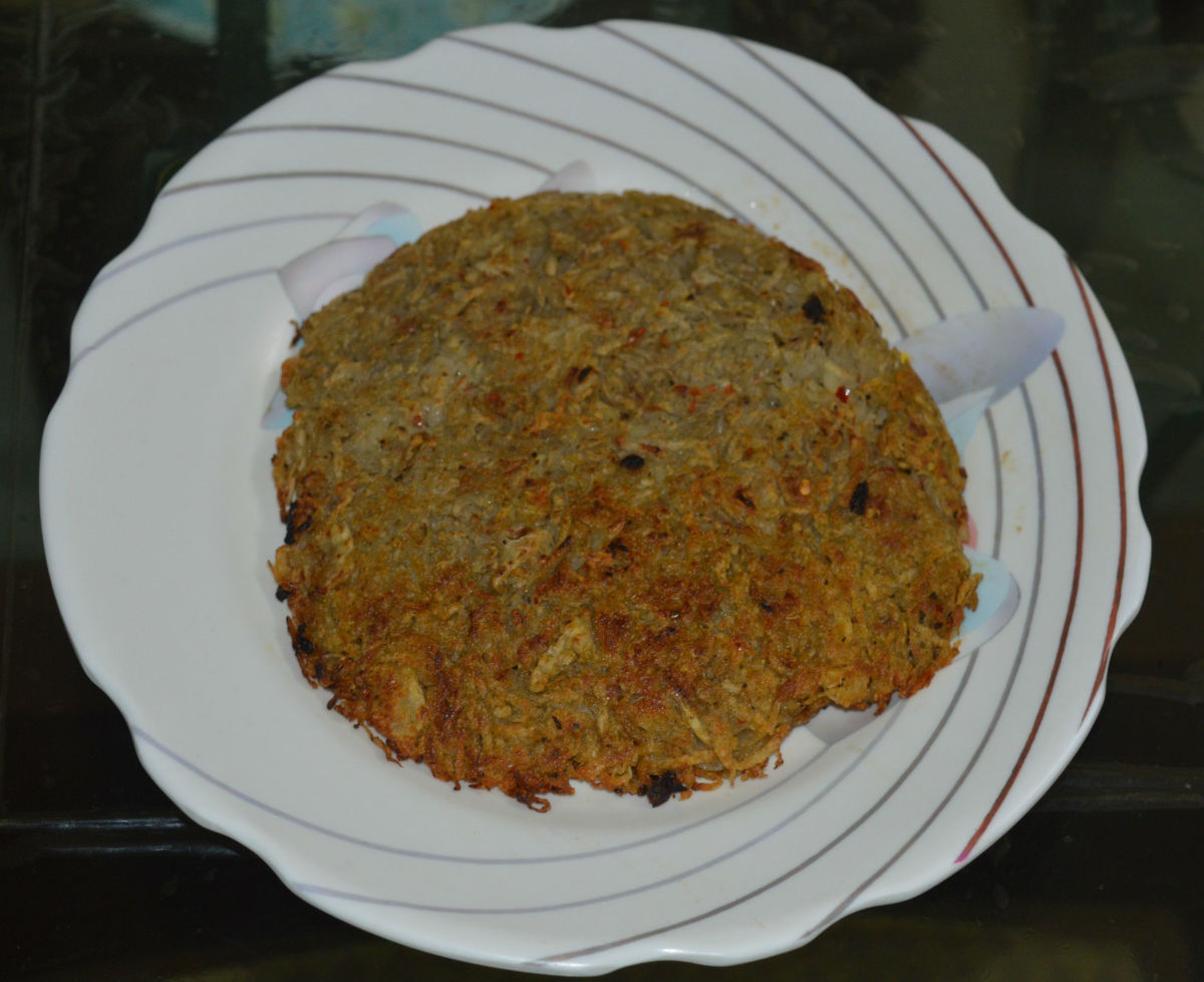Potato Rosti With Cheese