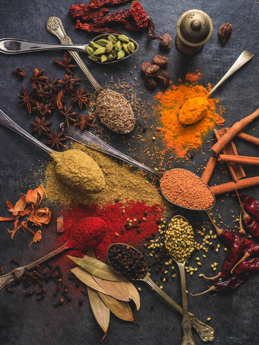 5 Basic Spice Combinations of Indian Cuisine