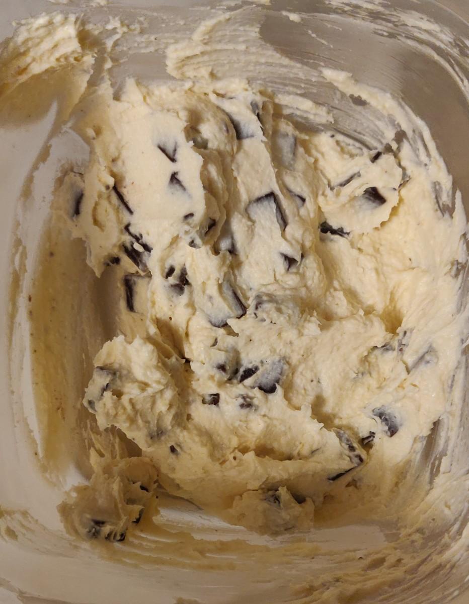Dirty Keto Cream Cheese Cookie Dough Recipe