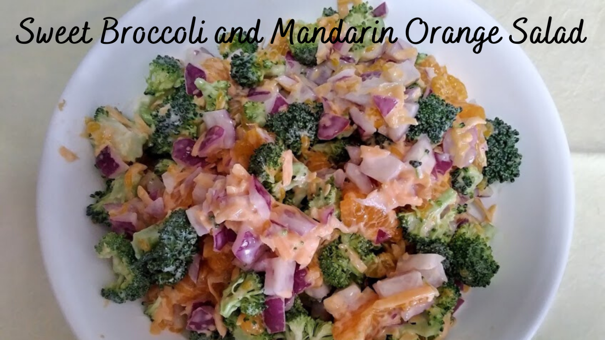 Sweet Broccoli and Mandarin Orange Salad