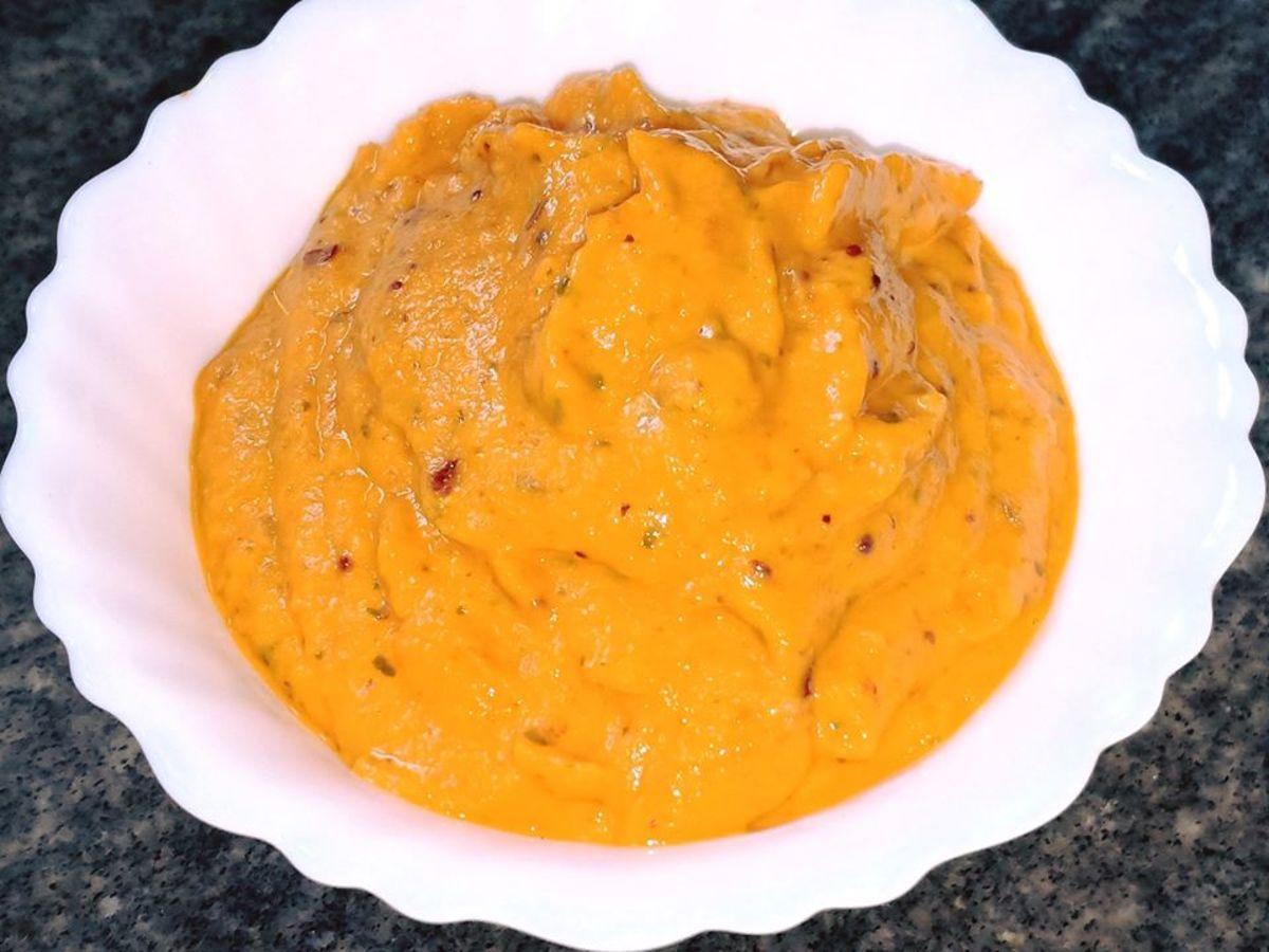 South Indian Onion Tomato Chutney Recipe