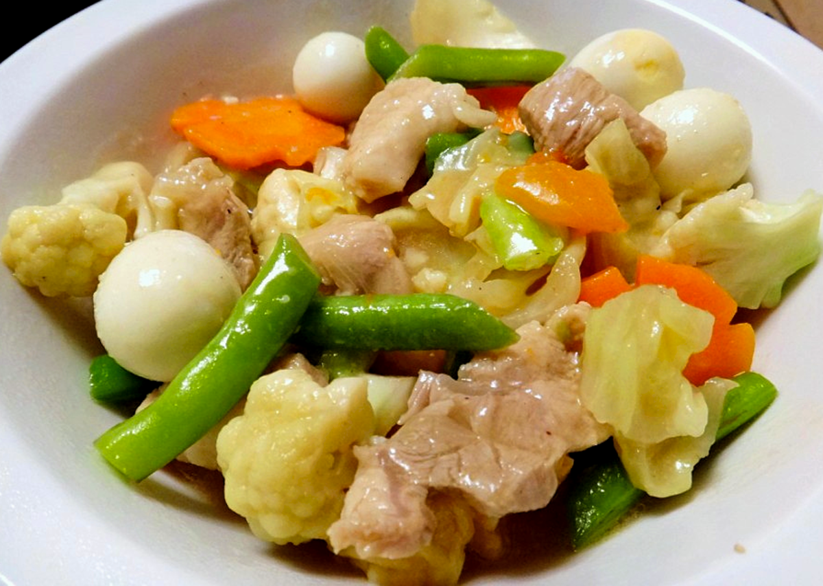 Quick and Easy Filipino Chop Suey (Sap Suy)