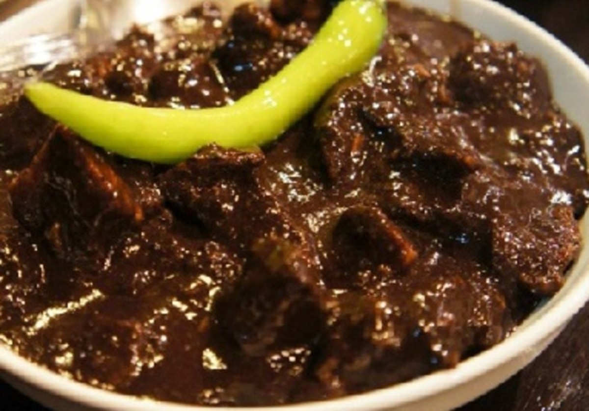 Filipino Pork and Blood Stew (Dinuguan)