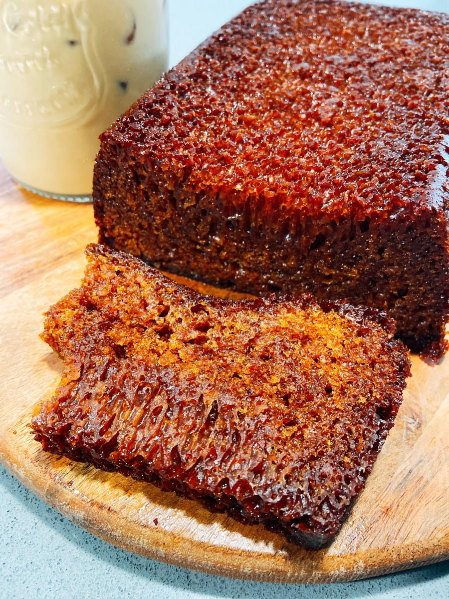 Honeycomb Cake Recipe (Kek Gula Hangus)