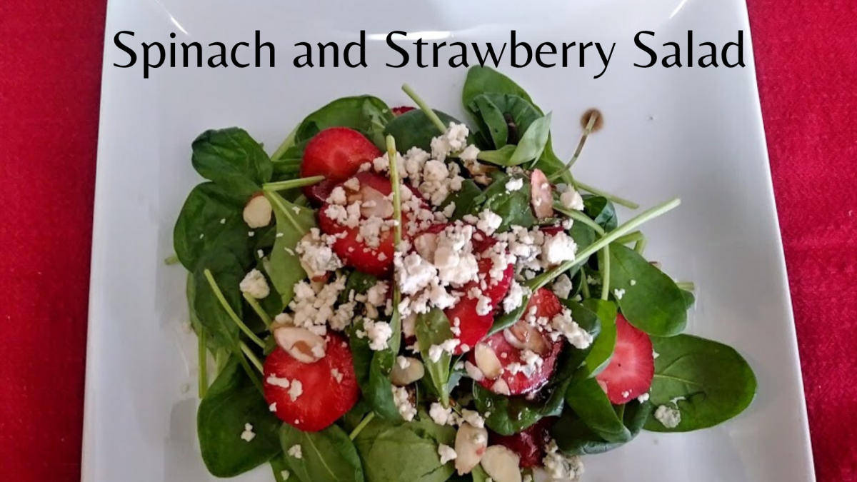 This healthy salad is quick and easy to prepare.