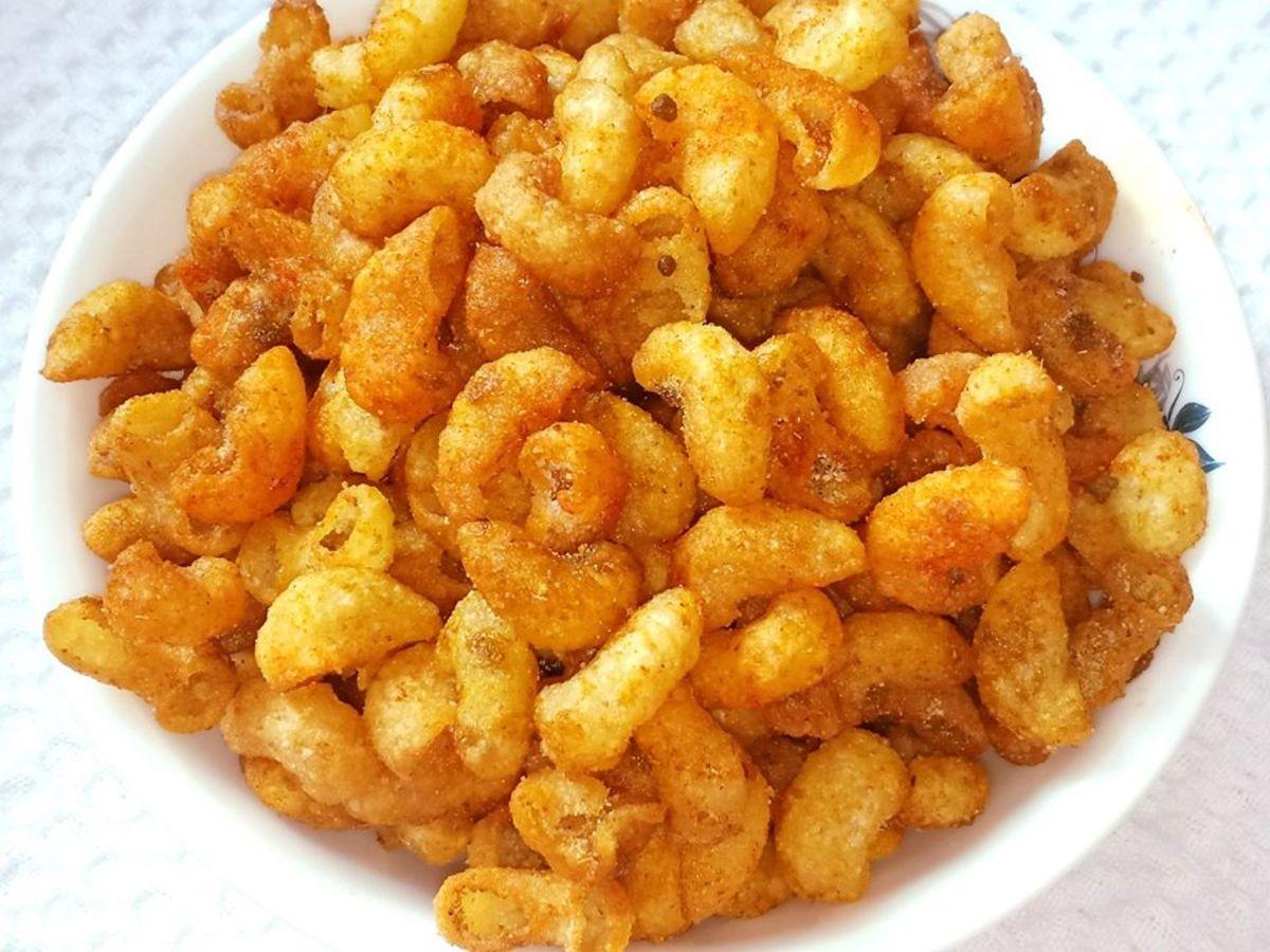 Crispy Macaroni Kurkure