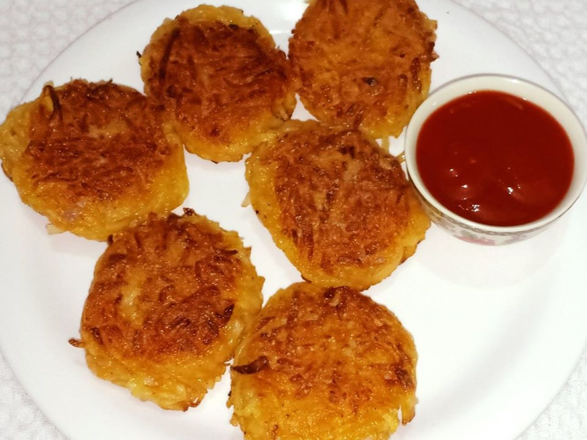 Indian-style hash browns