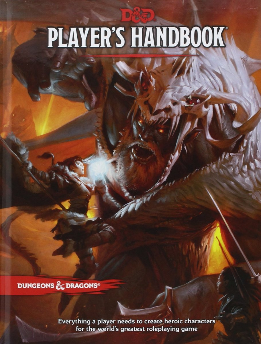 Beginning players should have the Dungeons and Dragons Player's Handbook at their side at all times during gameplay.