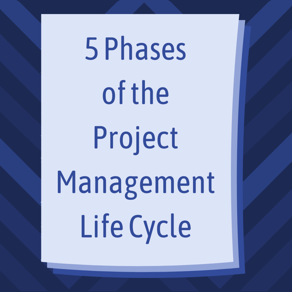 Explore the phases of the project management life cycle, from initiating to closing.