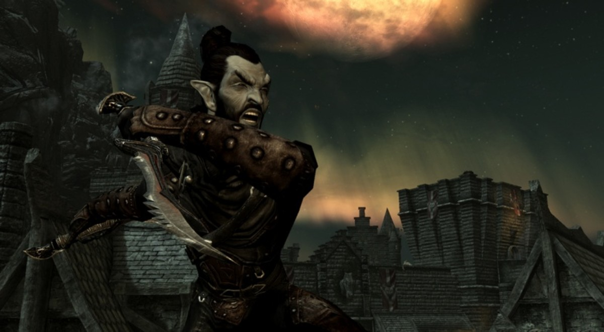 Skyrim: Detailed Breakdown of the Elf, Human, and Outcast Races