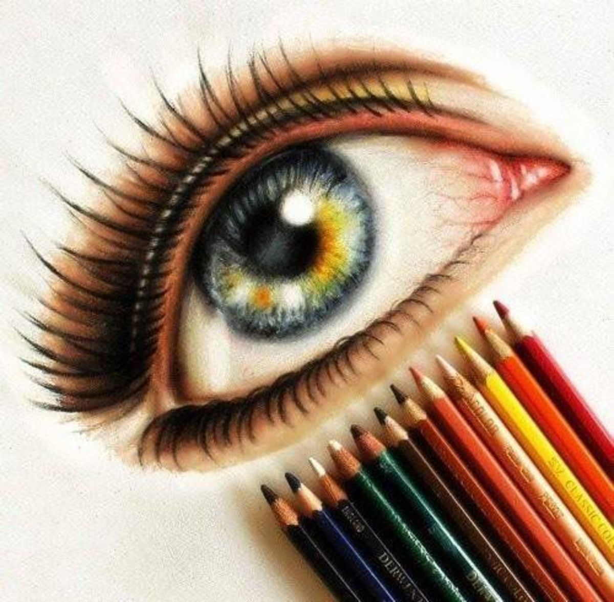 Eye Drawing: The Ultimate Colored Pencil Review